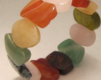 Semi-Precious Stones Bracelet