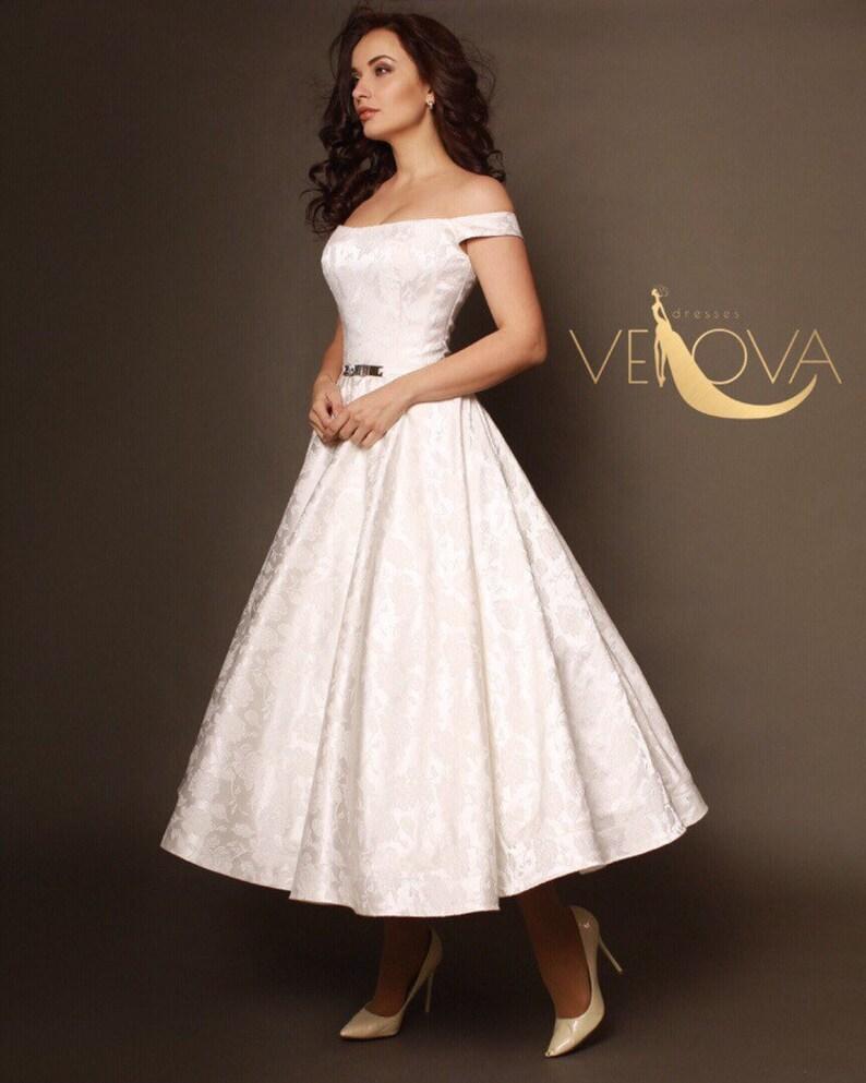 6d2c480665 short wedding dress, tea length wedding dress, beach wedding dress, simple  wedding dress, bridesmaid dress, white maxi dress, sale, custom
