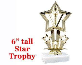 Winner Champion Best First Desktop Series Recognition Pageant StarTrophy