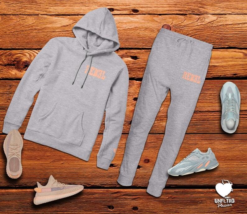 e916bc3cd249d Yeezy Inertia Set, Yeezy Inertia 700 Hoodie and Joggers, Yeezy 700 Fleece  Set, Adidas Yeezy Jogger Set || REBEL Hoodie LC & Jogger Set