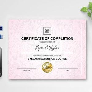 Certificate Template Printable Award Certificate Clean Etsy