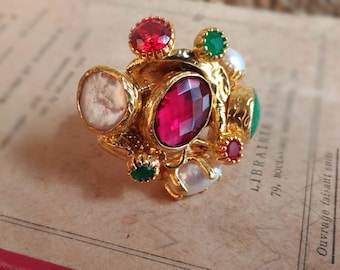 Brass Handcrafted Ring