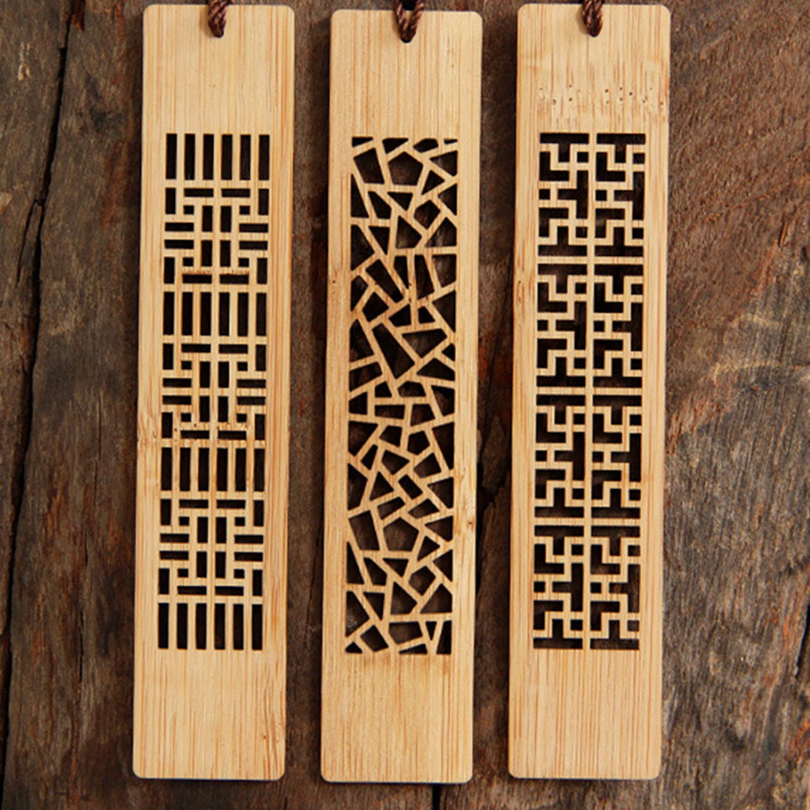 Carved bookmarks