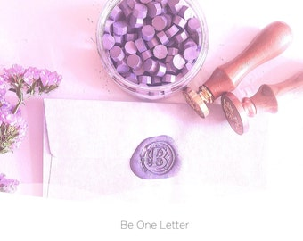 Purple Sealing Wax beads | wax seal stamp