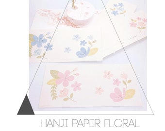 Hanji foral paper envelope