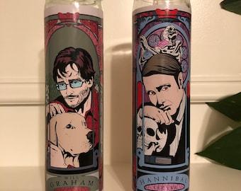 Hannibal Season Four Prayer Candle Set