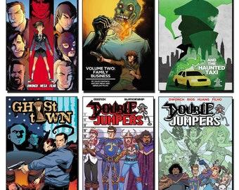 Dwonch DigiPak: Six Graphic Novels, Delivered Digitally!