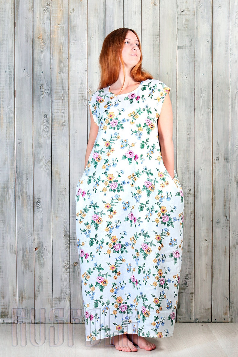 Long summer dress Linen maxi dress Long summer dress Maternity maxi dress Long summer dress Long linen dresses Pregnancy dresses Linen dress