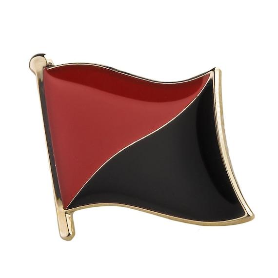 Leather Keyring Engraved Togo Flag