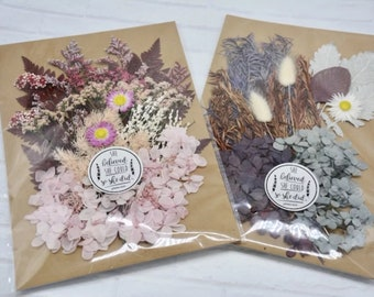 Mixed Pressed Flowers,Dried flower,Eternal Flowers,Handmade materials,DIY iphone case/Photo Frame/Album/Greeting Card/Gift Box,Stickers