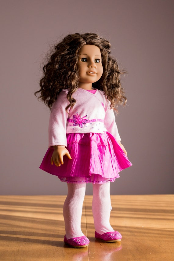 """American Girl MY AG PRETTY PINK COAT SET for 18/"""" Dolls Retired Jacket Outfit NEW"""