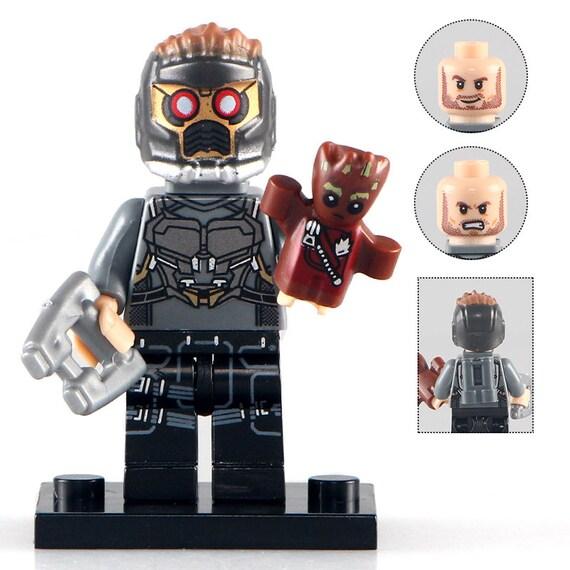 01BigBricks Custom Star-Lord Peter Minifigures Mini figure blocs P155