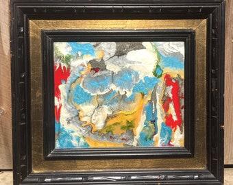 Mixed Medium Canvas Painting