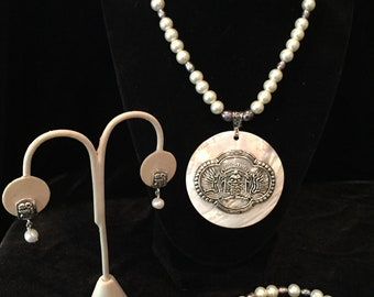 Mayan db couture Pearl Set