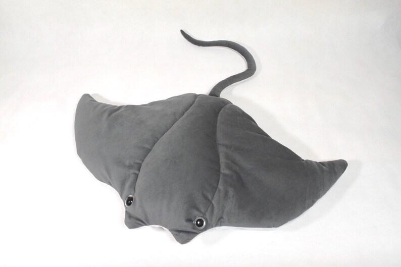 b1d044b70 Stingray stuffed animal 33 inch wide stuffed manta ray plush