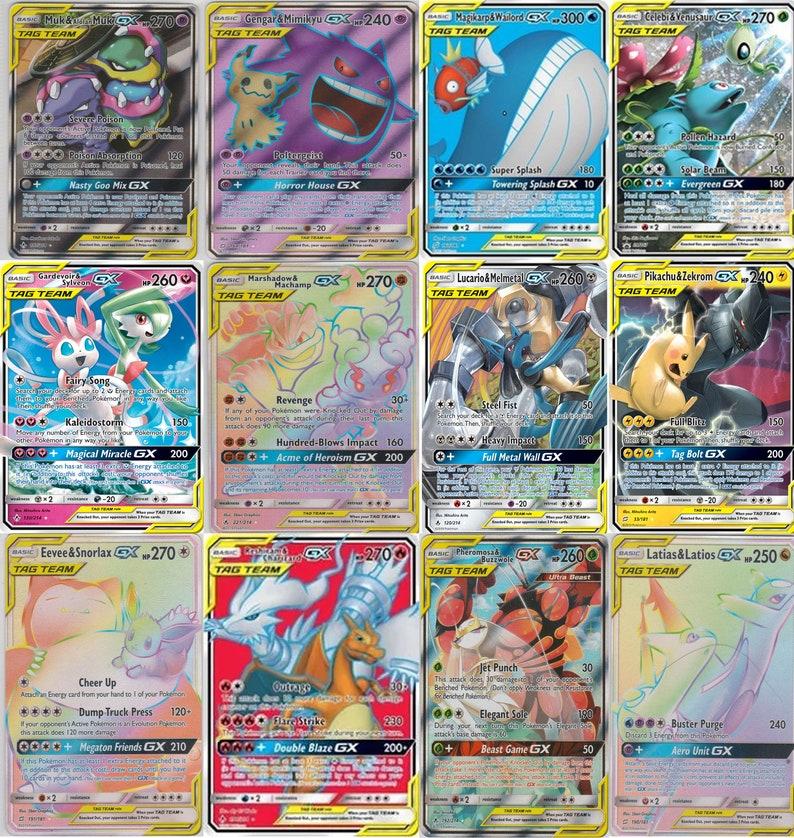 Pokemon Repack Rare 10 Card CUSTOM Booster Hyper Secret EX GX LOT CHARIZARD