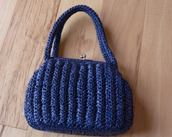 1950s Vintage Blue Handbag by Encore