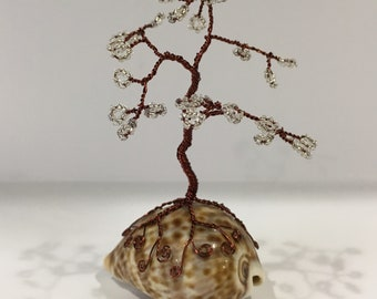 Mini Dark Copper Twisted Tree