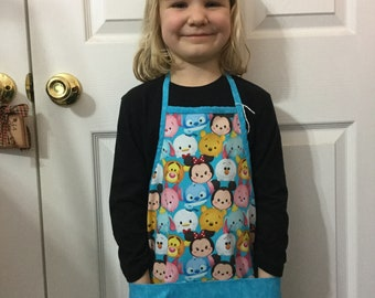 Toddler Apron Child's Apron with Pockets