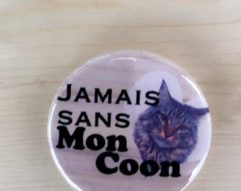 Badge maine coon