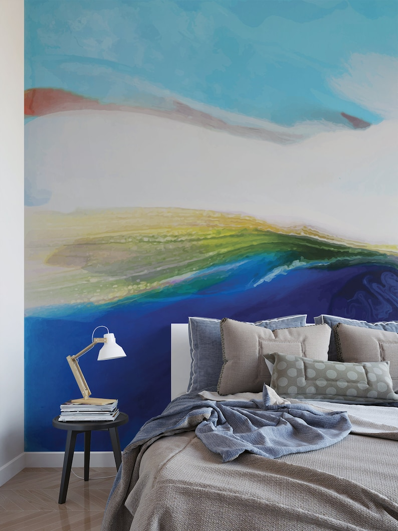 Iceland Voyager Abstract Removable Wall Mural 549 image 0