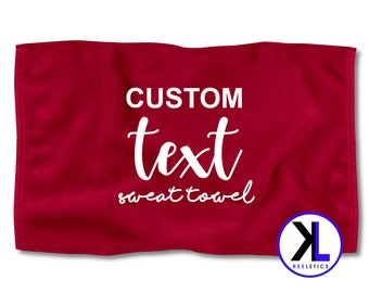 305ca293f9 Burgundy Custom Text Sweat Towel | Personalized Towel | Customized Towel | Gym  Towel | Exercise Towel | Fitness Towel | Workout Towel