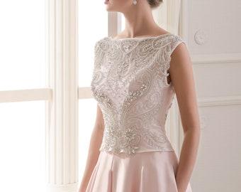 Luxury Wedding Jackets Rhinestones Crystal Shiny Beading Bridal Bolero Bridal Cover-up Wedding Crop Top Beaded Wedding Jackets Women  Jacket