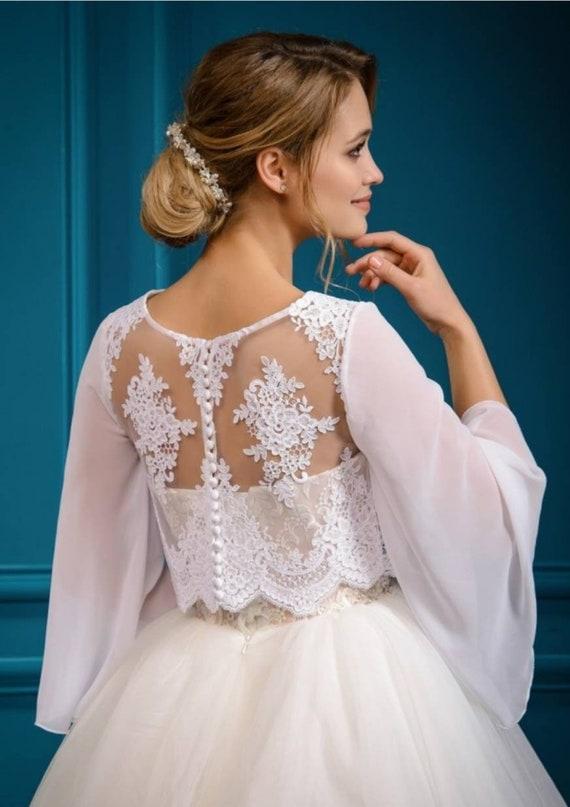 Bolero White Lace