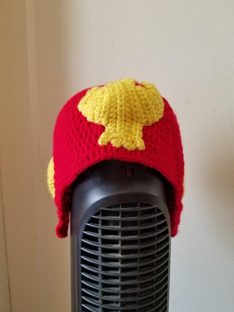 f95198ff844 Captain falcon beanie Hand Made Crochet
