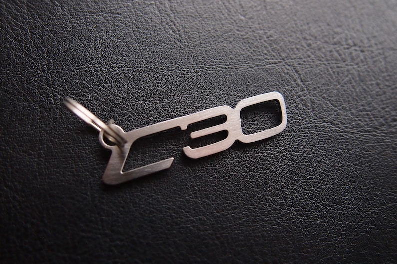C30 Volvo R design POLESTAR 2 5 t5 Turbo Keyring Key Keychain  Schlüsselanhänger stainless steel Pedant llavero Porte-clés
