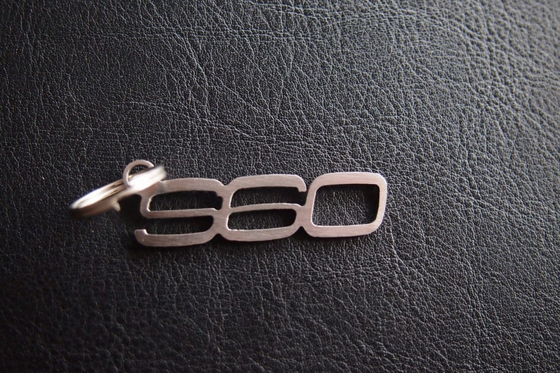 S60 R-Design I II VOLVO T5 T6 D5 I II Polestar Keyring Key Keychain Schl\u00fcsselanh\u00e4nger stainless steel Pedant llavero Porte-cl\u00e9s