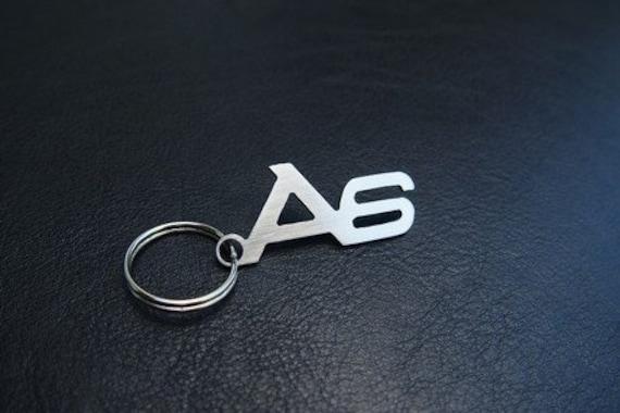 For Audi A6 TDI C7 keyring Schlüsselring porte-clés keychain QUATTRO S LINE C6