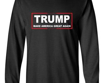 40a5fd70e Items similar to Trump Triumph 2016 Long Sleeve T-Shirt - Make ...