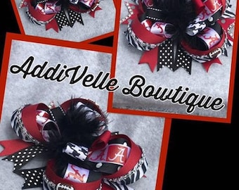 Alabama Boutique Hairbow