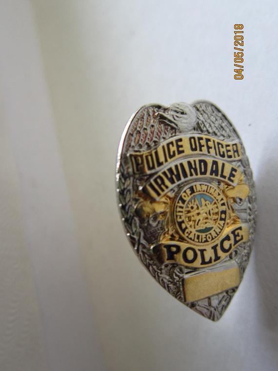 COMPTON Police Officer 1 miniature Badge Hat Lapel Pin Tie Tac California
