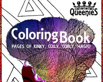 Queenies Coloring Book FALL PRE ORDER