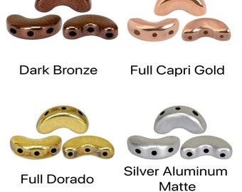 Minos par Puca Beige Capri Gold Free Pattern w Purchase Green Turquoise Capri Gold Full Dorado 5g Crystal