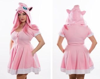 Jigglypuff Inspired Kigurumi Dress