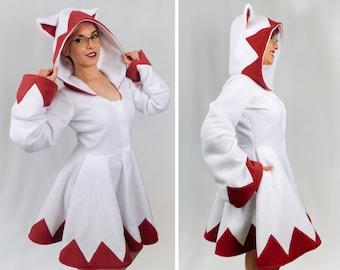 White Mage Inspired Kigurumi Dress