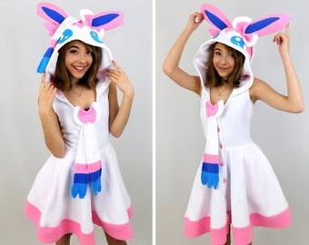 Sylveon Inspired Kigurumi Dress
