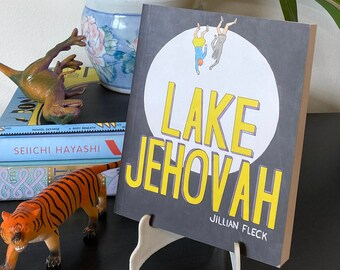 Lake Jehovah Canadian anthropocene apocalypse independent graphic novel with authour personalization