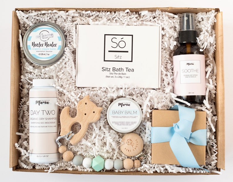 New Mama Gift New Mom Gift Box Curated Gift For Mom Gift Basket For New Mom New Baby Gift Box Curated Gift Box Expectant Morher Gift