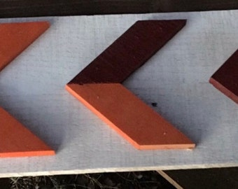 House Divided Reclaimed Wood Sign