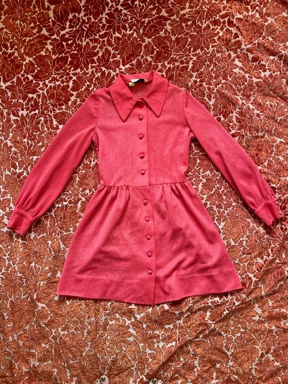 60s Pink Minidress