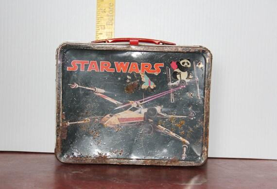Vintage Star Wars Tin Lunchbox