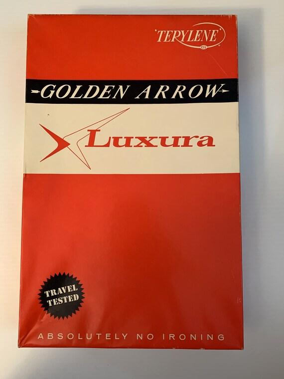 NOS 1950s Golden Arrow Luxura Men's Shirt