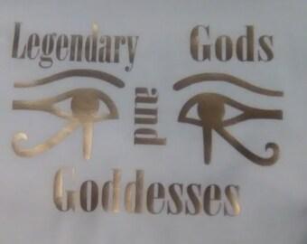Legendary Gods And Goddesses shirt