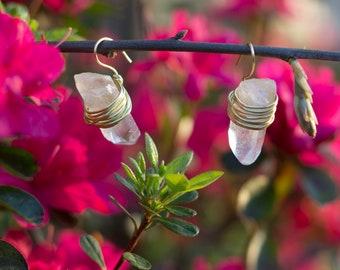 Crystal Clear Earrings
