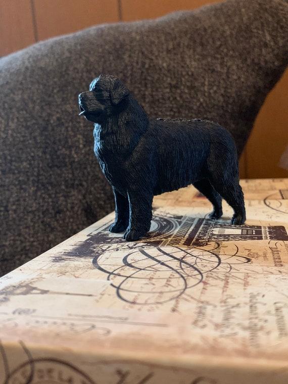 3D Newfoundland Dog Figure Pets Love Newfie Dog Newfoundland 3d Standin Landseer