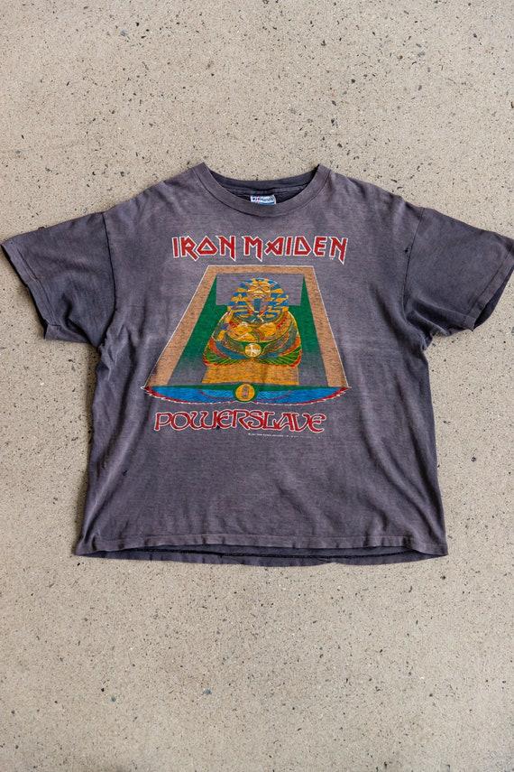 Vintage 1980's IRON MAIDEN Powerslave T-shirt | 19